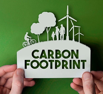 Carbon footprint of products